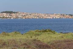 Ακτή Σαρδηνία Sant'Antioco Στοκ Εικόνα