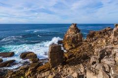 Ακτή σε Peniche - την Πορτογαλία Στοκ φωτογραφία με δικαίωμα ελεύθερης χρήσης