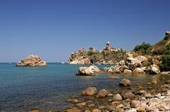 ακτή Σικελία Στοκ Εικόνα