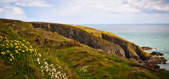 Ακτή στην Ιρλανδία Στοκ Φωτογραφία