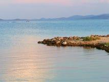 Ακτή στην Κροατία στοκ εικόνες