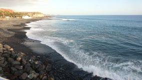 Ακτή στη πλευρά Adeje Tenerife Στοκ Εικόνες