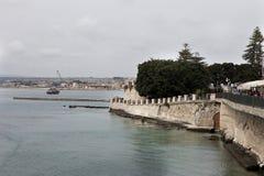 Ακτή στις Συρακούσες Στοκ φωτογραφία με δικαίωμα ελεύθερης χρήσης