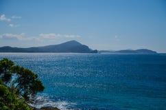 Ακτή στους βράχους σφραγίδων, NSW, Αυστραλία Στοκ Εικόνες