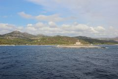Ακτή στο νησί Στοκ Εικόνες