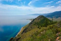 Ακτή της λίμνης Baikal Στοκ εικόνα με δικαίωμα ελεύθερης χρήσης