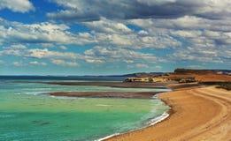 Ακτή της Αργεντινής στοκ εικόνες με δικαίωμα ελεύθερης χρήσης