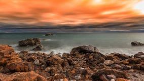 Ακτή της Αλμερία Στοκ εικόνες με δικαίωμα ελεύθερης χρήσης