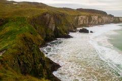 Ακτή της Βόρειας Ιρλανδίας Στοκ Εικόνα