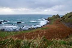 Ακτή της Βόρειας Ιρλανδίας Στοκ εικόνες με δικαίωμα ελεύθερης χρήσης