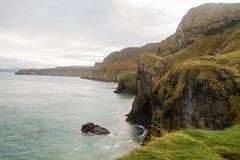 Ακτή της Βόρειας Ιρλανδίας Στοκ Εικόνες