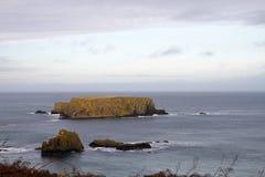 Ακτή της Βόρειας Ιρλανδίας Στοκ Φωτογραφίες