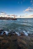 Ακτή της θάλασσας της Βαλτικής Στοκ Φωτογραφία