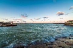 Ακτή της θάλασσας της Βαλτικής Στοκ Φωτογραφίες