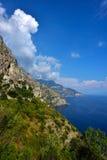 Ακτή της Ιταλίας, Αμάλφη στοκ φωτογραφίες
