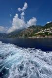 Ακτή της Ιταλίας, Αμάλφη στοκ φωτογραφία με δικαίωμα ελεύθερης χρήσης