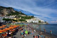 Ακτή της Ιταλίας, Αμάλφη στοκ φωτογραφία