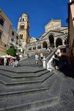Ακτή της Ιταλίας, Αμάλφη στοκ εικόνες με δικαίωμα ελεύθερης χρήσης