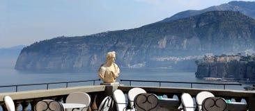 Ακτή της Ιταλίας - Σορέντο - της Αμάλφης Στοκ φωτογραφία με δικαίωμα ελεύθερης χρήσης