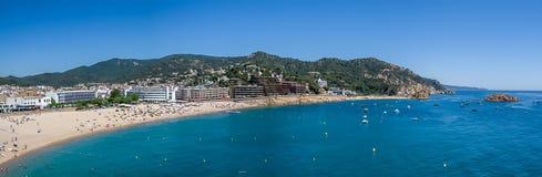 Ακτή της Καταλωνίας Στοκ φωτογραφία με δικαίωμα ελεύθερης χρήσης