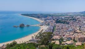 Ακτή της Καταλωνίας Στοκ Εικόνα