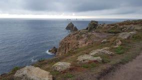 Ακτή της Κορνουάλλης Στοκ φωτογραφίες με δικαίωμα ελεύθερης χρήσης