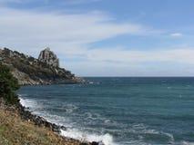 Ακτή της Μαύρης Θάλασσας Στοκ εικόνες με δικαίωμα ελεύθερης χρήσης