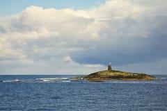 Ακτή της Νορβηγίας Στοκ φωτογραφία με δικαίωμα ελεύθερης χρήσης