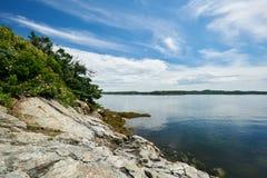 Ακτή της πέτρας Στοκ Εικόνες