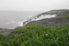 Ακτή της Πορτογαλίας που απασχολεί τον Ατλαντικό Ωκεανό Στοκ Φωτογραφία