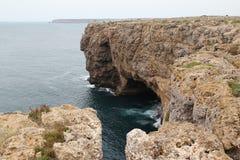 Ακτή της Πορτογαλίας, η Αλγκάρβε Στοκ φωτογραφία με δικαίωμα ελεύθερης χρήσης