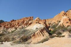 Ακτή της Πορτογαλίας, η Αλγκάρβε Στοκ Φωτογραφία