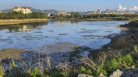 Ακτή της πόλης Weihai στοκ εικόνες