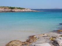 Ακτή της Σαρδηνίας, Ιταλία Στοκ Εικόνες