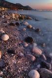 Ακτή της Τουρκίας στην περιοχή Beldibi, Antalya Στοκ φωτογραφία με δικαίωμα ελεύθερης χρήσης