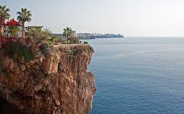 Ακτή της Τουρκίας Antalya Στοκ εικόνα με δικαίωμα ελεύθερης χρήσης