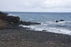 Ακτή της Χαβάης Στοκ φωτογραφία με δικαίωμα ελεύθερης χρήσης