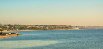 Ακτή της Azov θάλασσας στοκ εικόνες με δικαίωμα ελεύθερης χρήσης
