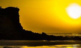 Ακτή του Αλγκάρβε Στοκ Φωτογραφία