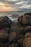 Ακτή του Ινδικού Ωκεανού - της Σρι Λάνκα Στοκ Φωτογραφίες