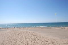 ακτή του Μίτσιγκαν λιμνών Στοκ εικόνες με δικαίωμα ελεύθερης χρήσης