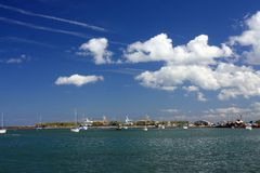 ακτή του Μπανγκόρ πλησίον Στοκ φωτογραφία με δικαίωμα ελεύθερης χρήσης