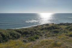 Ακτή του νησιού της Κύπρου Στοκ Εικόνα