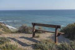 Ακτή του νησιού της Κύπρου Στοκ εικόνες με δικαίωμα ελεύθερης χρήσης