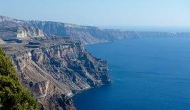 Ακτή του νησιού Santorini Στοκ φωτογραφία με δικαίωμα ελεύθερης χρήσης