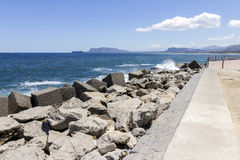 Ακτή του Παλέρμου στοκ εικόνες με δικαίωμα ελεύθερης χρήσης