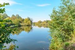 Ακτή του ποταμού Στοκ Φωτογραφία