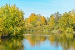 Ακτή του ποταμού Στοκ Εικόνες