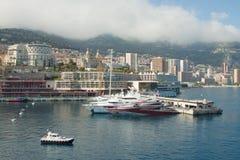 ακτή του Carlo monte στοκ φωτογραφίες με δικαίωμα ελεύθερης χρήσης