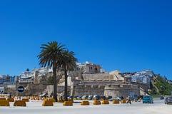 Ακτή του Tangier, Tangier, Ταγγέρη, Μαρόκο, Αφρική, Βόρεια Αφρική, Μαγκρέμπ, στενό του Γιβραλτάρ, Μεσόγειος, Ατλαντικός Ωκεανός Στοκ εικόνες με δικαίωμα ελεύθερης χρήσης